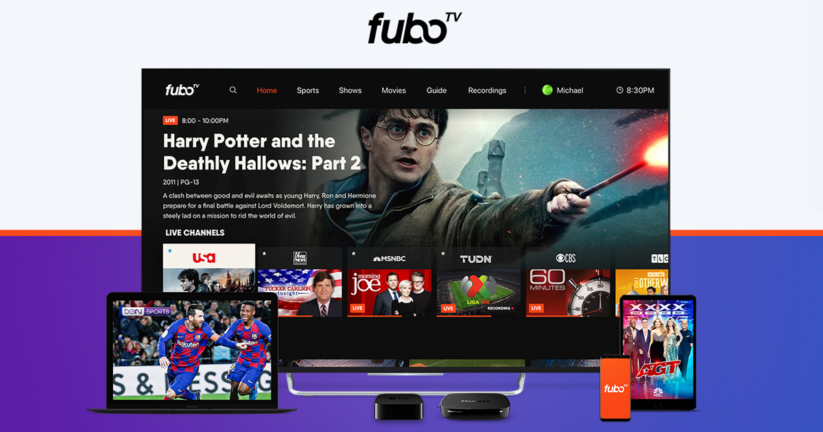 fuboTV - Watch & DVR Live Sports & TV Online