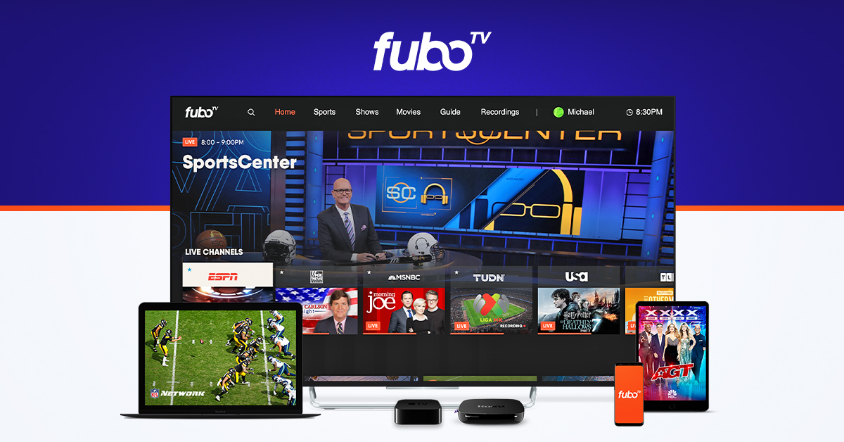 Fubotv Watch Live Sports Tv Without Cable Try Free
